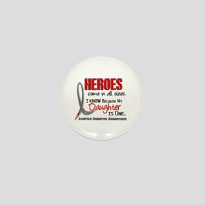 Heroes All Sizes Juv Diabetes Mini Button