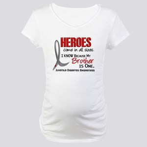 Heroes All Sizes Juv Diabetes Maternity T-Shirt