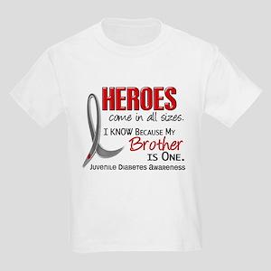 Heroes All Sizes Juv Diabetes Kids Light T-Shirt
