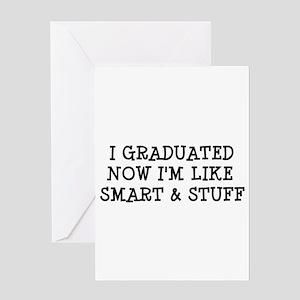 Smart & Stuff Grad Greeting Card