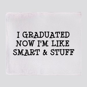 Smart & Stuff Grad Throw Blanket