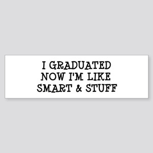Smart & Stuff Grad Sticker (Bumper)