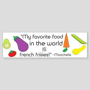 Moochelle Sticker (Bumper)