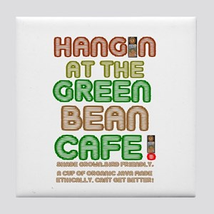 HANGING AT THE GREEN BEAN CAFE - VEGA Tile Coaster