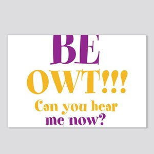 BE OWT!!! Postcards (Package of 8)