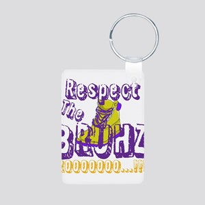 Respect the Bruhz Aluminum Photo Keychain