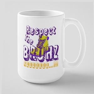 Respect the Bruhz Large Mug