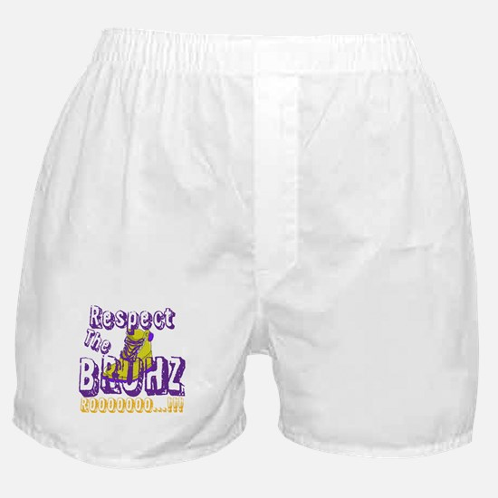 Respect the Bruhz Boxer Shorts