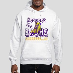Respect the Bruhz Hooded Sweatshirt