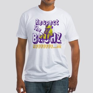 Respect the Bruhz Fitted T-Shirt