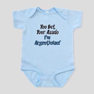 Bet Your Asado Argentinian Infant Bodysuit