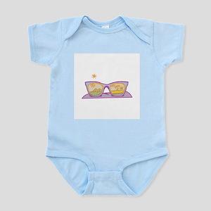 Scenic Sunglasses Infant Creeper