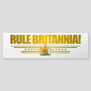 """""""Rule Britannia"""" Sticker (Bumper)"""