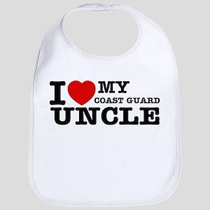 I love My Coast Guard Uncle Bib
