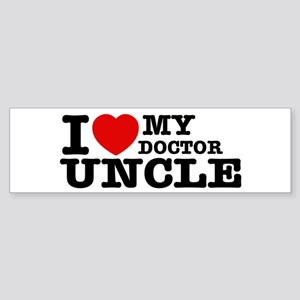 I love My Doctor Uncle Sticker (Bumper)