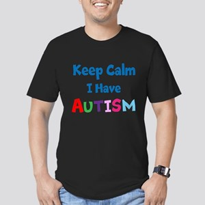 Autismawareness2012 Keep Calm Men's Fitted T-Shirt