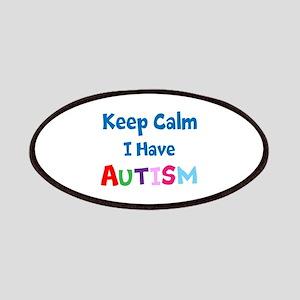 Autismawareness2012 Keep Calm Patches