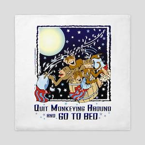 Monkeying Around Queen Duvet
