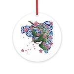 Houou sakura Ornament (Round)