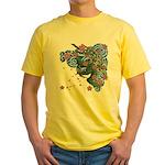 Houou sakura Yellow T-Shirt