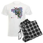 Houou sakura Men's Light Pajamas