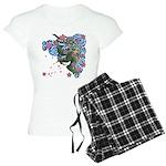 Houou sakura Women's Light Pajamas