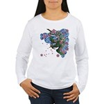 Houou sakura Women's Long Sleeve T-Shirt