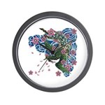 Houou sakura Wall Clock