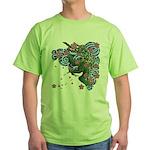Houou sakura Green T-Shirt