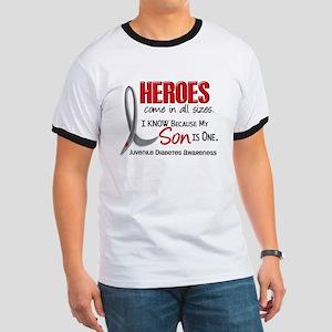 Heroes All Sizes Juv Diabetes Ringer T