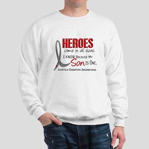 Heroes All Sizes Juv Diabetes Sweatshirt