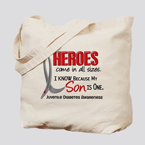 Heroes All Sizes Juv Diabetes Tote Bag