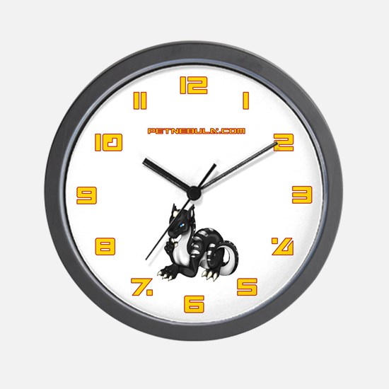 Black Dragold Wall Clock