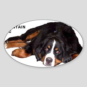 Bernese Mountain Dog - Oval Sticker