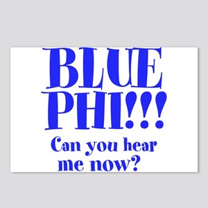BLUE PHI Postcards (Package of 8)