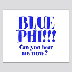 BLUE PHI Small Poster