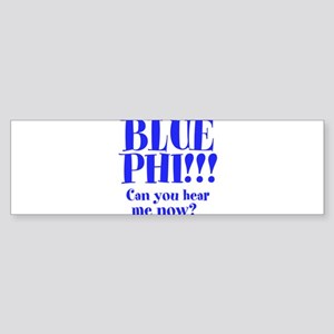 BLUE PHI Sticker (Bumper)