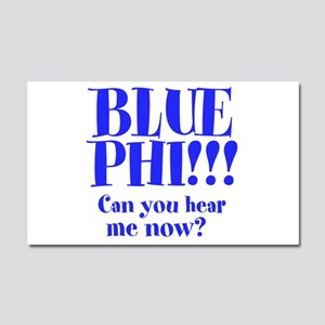 BLUE PHI Car Magnet 20 x 12