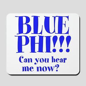 BLUE PHI Mousepad