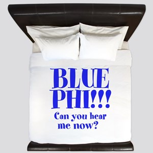 BLUE PHI King Duvet