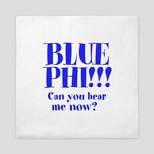 BLUE PHI Queen Duvet