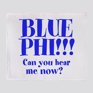 BLUE PHI Throw Blanket