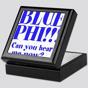 BLUE PHI Keepsake Box