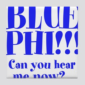 BLUE PHI Tile Coaster