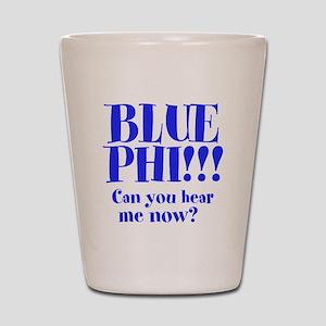 BLUE PHI Shot Glass