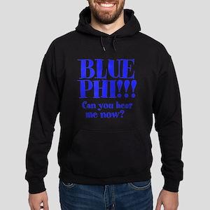 BLUE PHI Hoodie (dark)