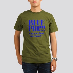 BLUE PHI Organic Men's T-Shirt (dark)