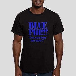BLUE PHI Men's Fitted T-Shirt (dark)