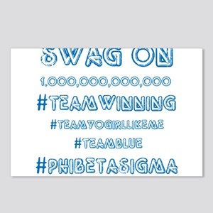 Phi Beta Sigma Swag Postcards (Package of 8)