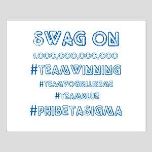 Phi Beta Sigma Swag Small Poster